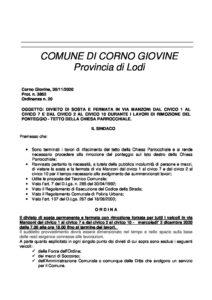 20 divieto di sosta in via manzoni _ rimozione ponteggio chiesa (002)