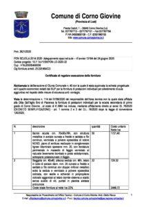 certificato collaudo postazioni