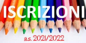 iscrizioni scolastiche 21_22
