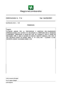 ordinanza 714
